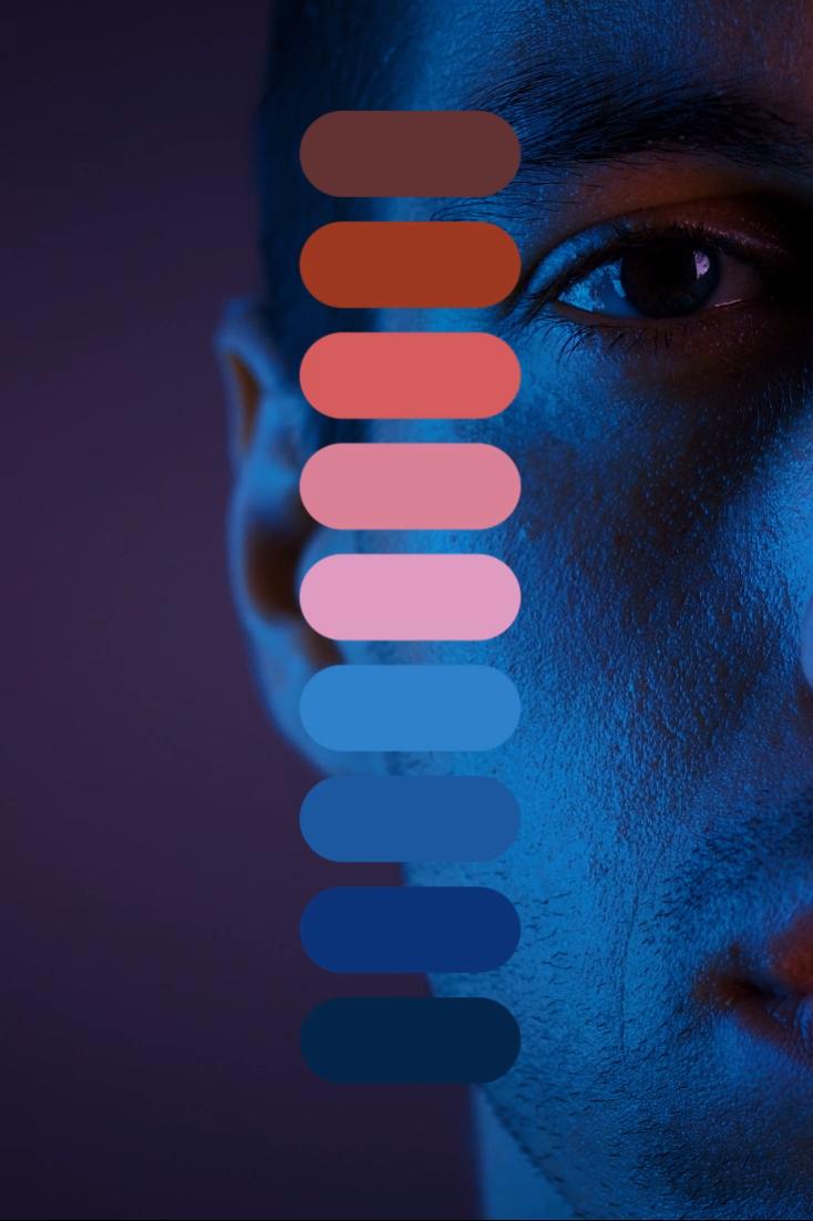 Color Palette: Classic Blue