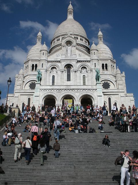 Sacre Cour chapel in France, was ther in 1989