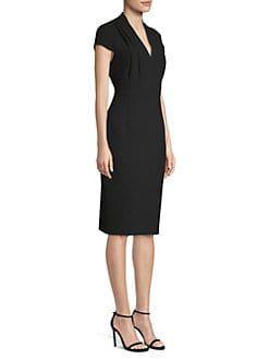 30a8969f2c2a Elie Tahari - Gerarda Short Sleeve Sheath Dress   Shopstyle in 2018 ...