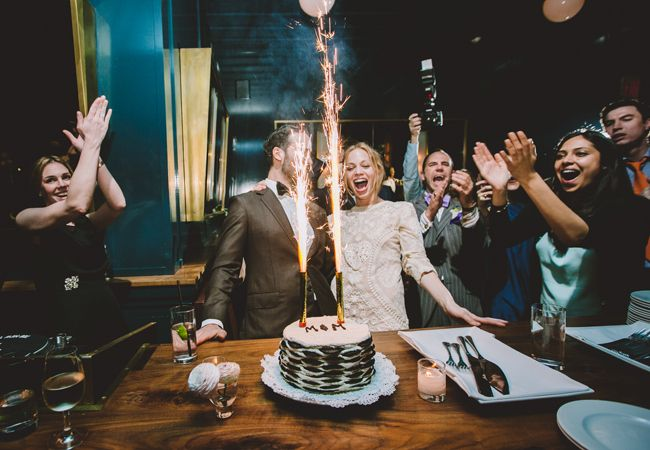 11 Ways Real Couples Cut The Cake - The Knot Blog