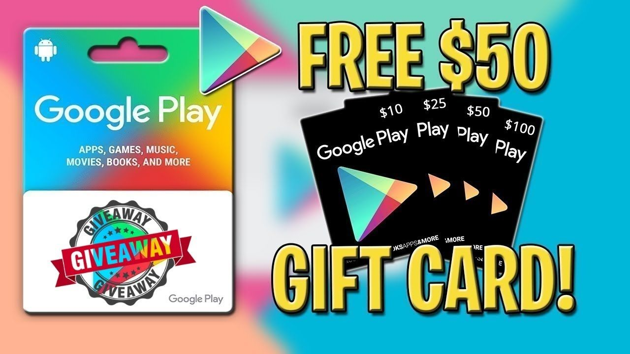 Google Play Redeem Code Free - How To Get Free Google Play ...