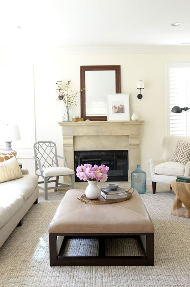 6 White Paint Colors to Bring in Summer | Cozy family rooms ...