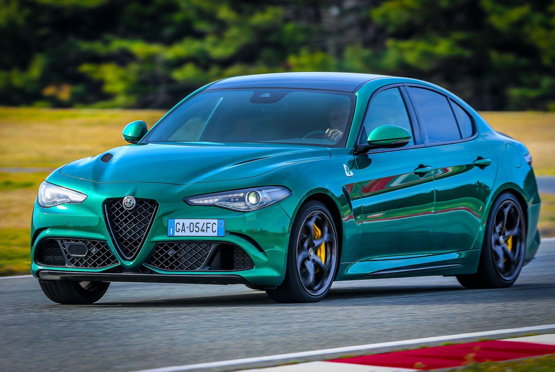 The 2020 Alfa Romeo Giulia Quadrifoglio Is Almost The Perfect Sports Sedan Alfa Romeo Giulia Quadrifoglio Alfa Romeo Giulia Alfa Romeo