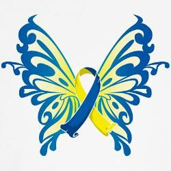 71c25c5b50127 Down's Syndrome Awareness Butterfly | Tattoo Ideas and Concepts ...
