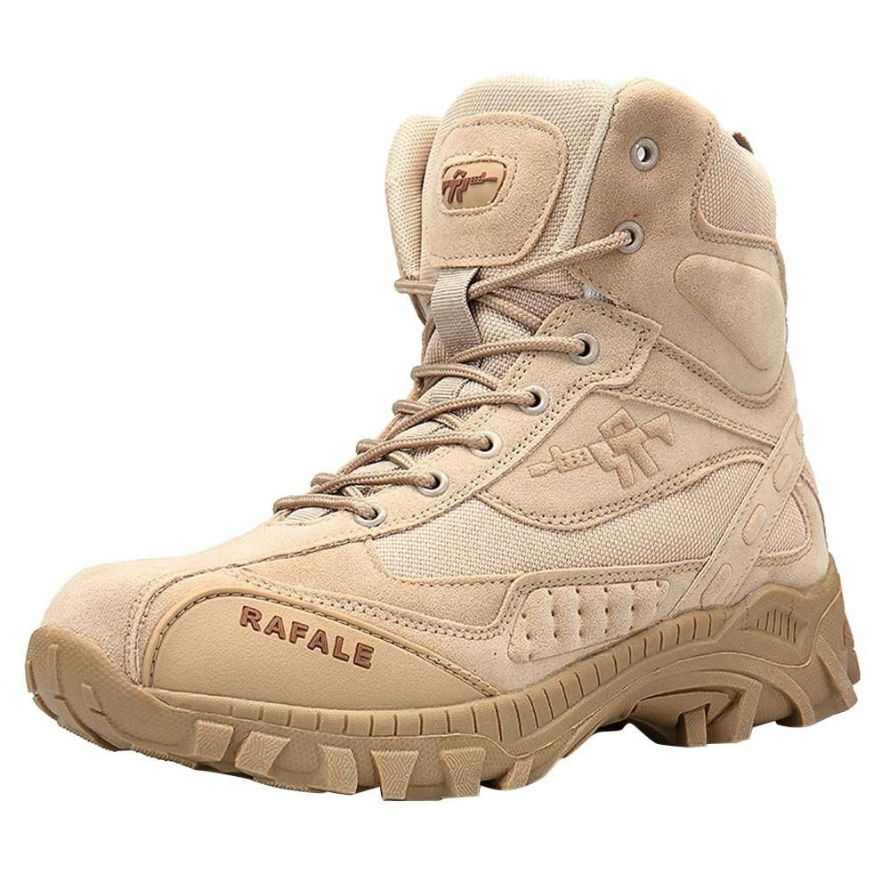 02425a19318 Men Military Boot Tactical Desert Combat Ankle Boat Army Work Shoes ...