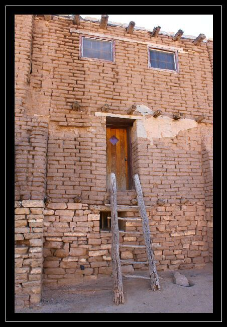 Oldest Inhabited Building in the U.S., Acoma, New Mexico