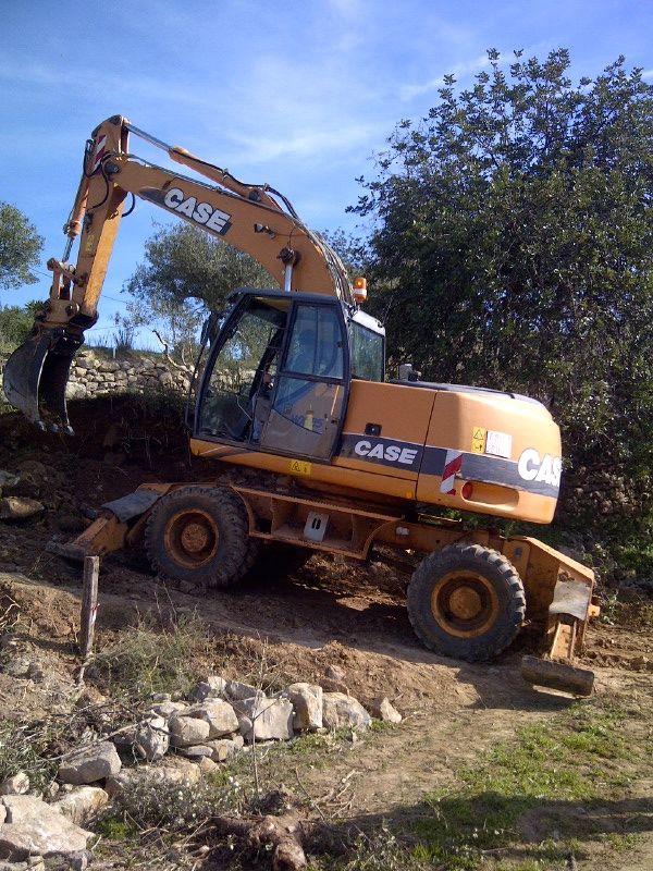 toch een 25ton machine nodig voor de stenen
