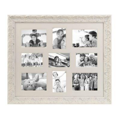 Distressed White Harlow Collage Frame | Kirkland's
