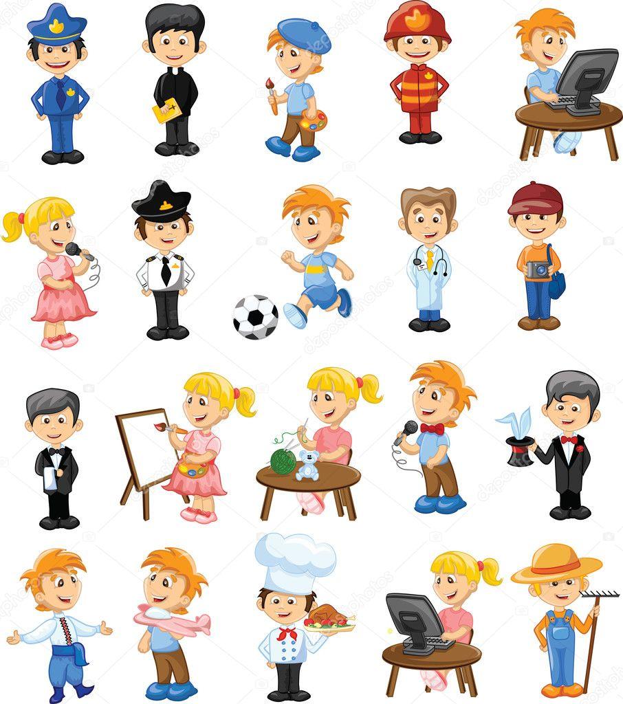Imagenes De Dibujos De Profesiones Buscar Con Google Poemas Infantiles Profesiones Para Ninos Poesia Para Ninos