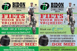 Driewielerzitfiets.nl: @raisinhope_nl Maak van jouw Rondje Stelling  of t...