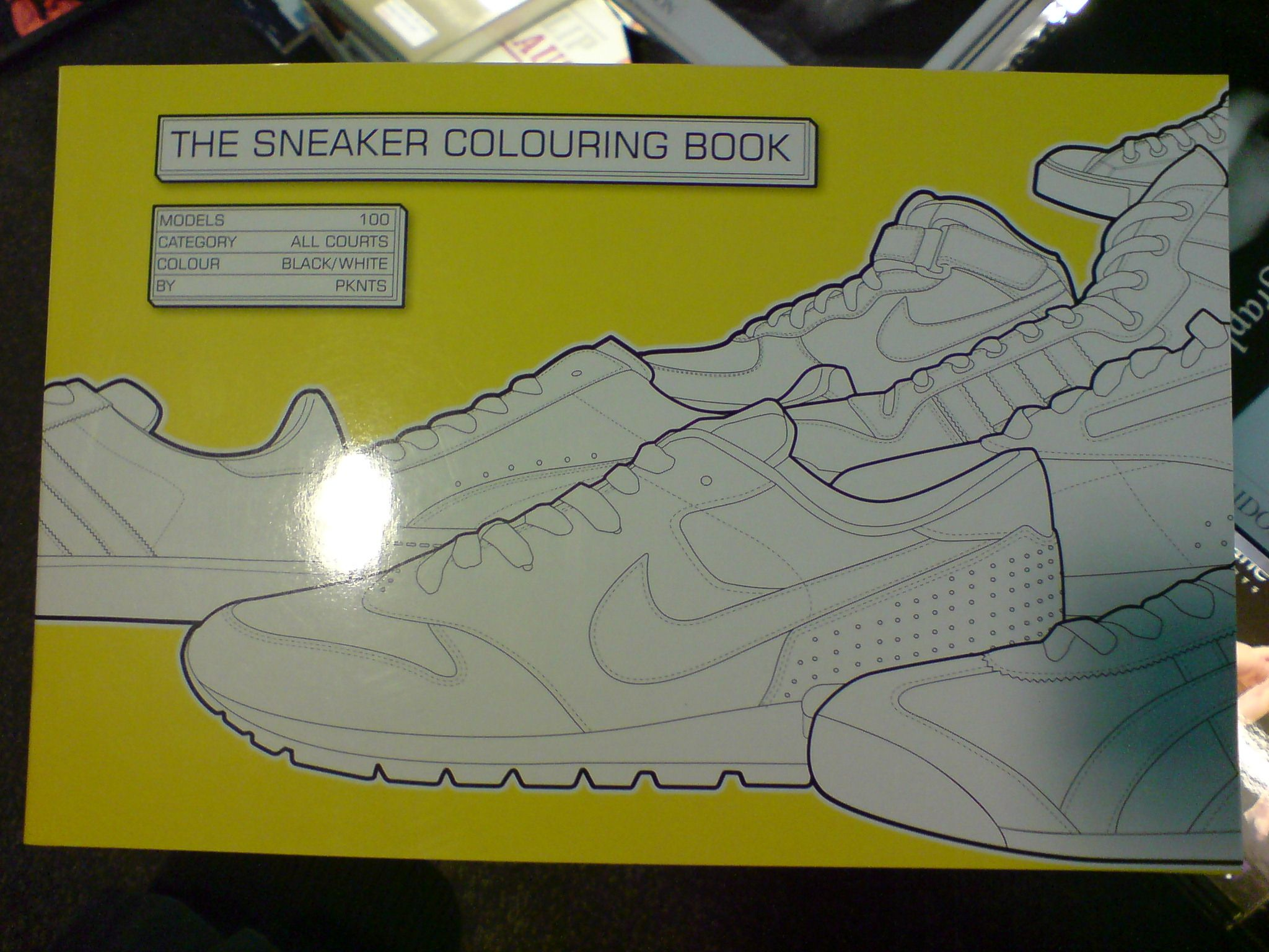 sneakers colouring book | customize sneakers | Pinterest | Coloring ...