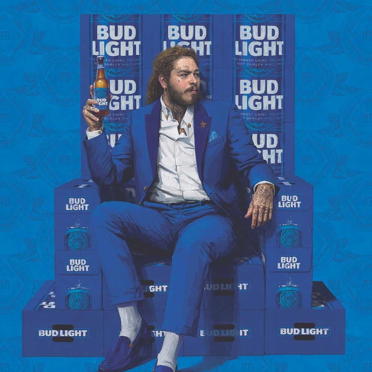 Image result for bud light post malone""