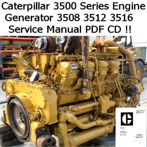 Details about Caterpillar Engine 3500 Series 3508 3512 3516