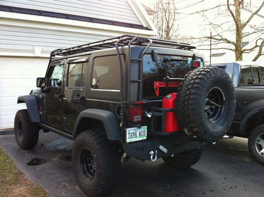 door roof runner by product wrangler cargo extreme front rack jku kit slimline jeep ii half