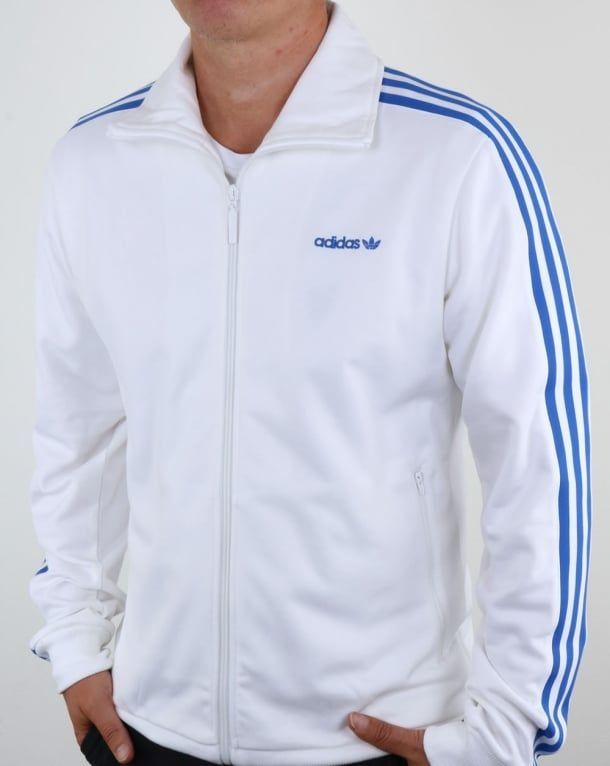 02ffe04ab Adidas Originals OS Beckenbauer Track Top White/Blue,tracksuit,jacket,mens ,retro