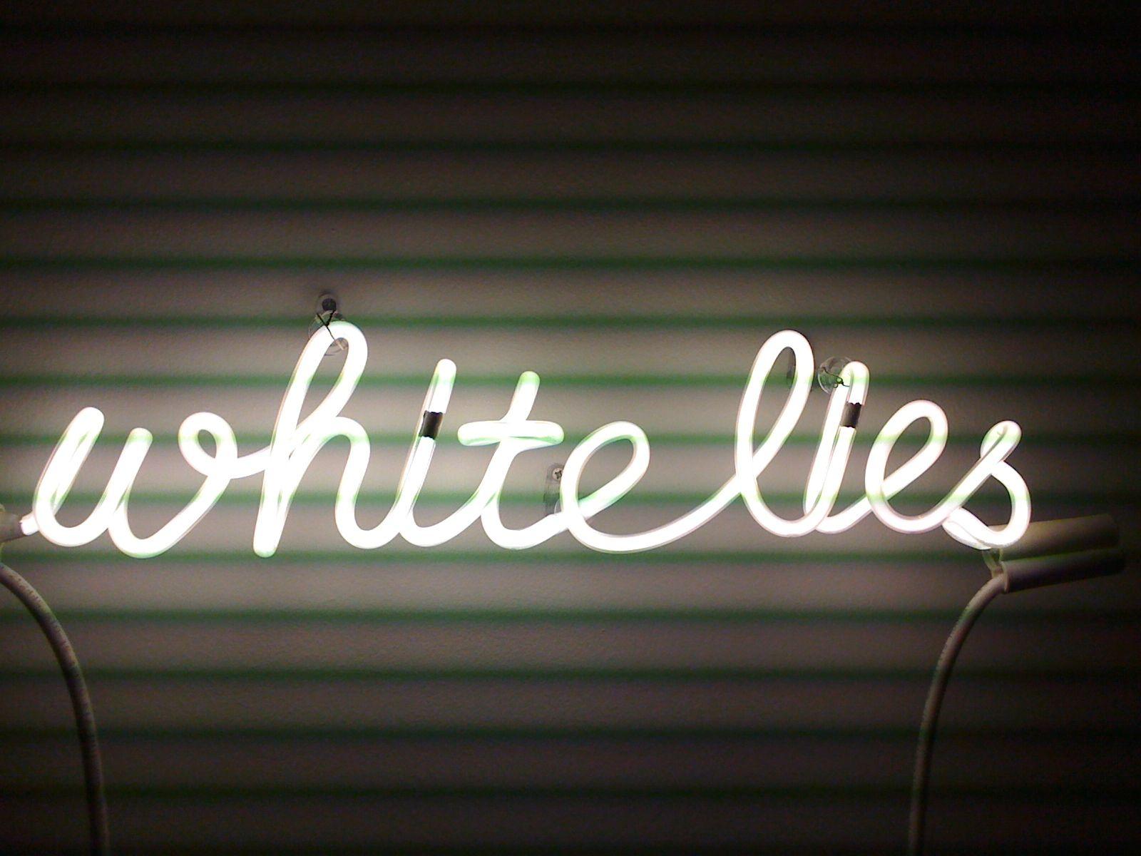 White Lies Neon Neon