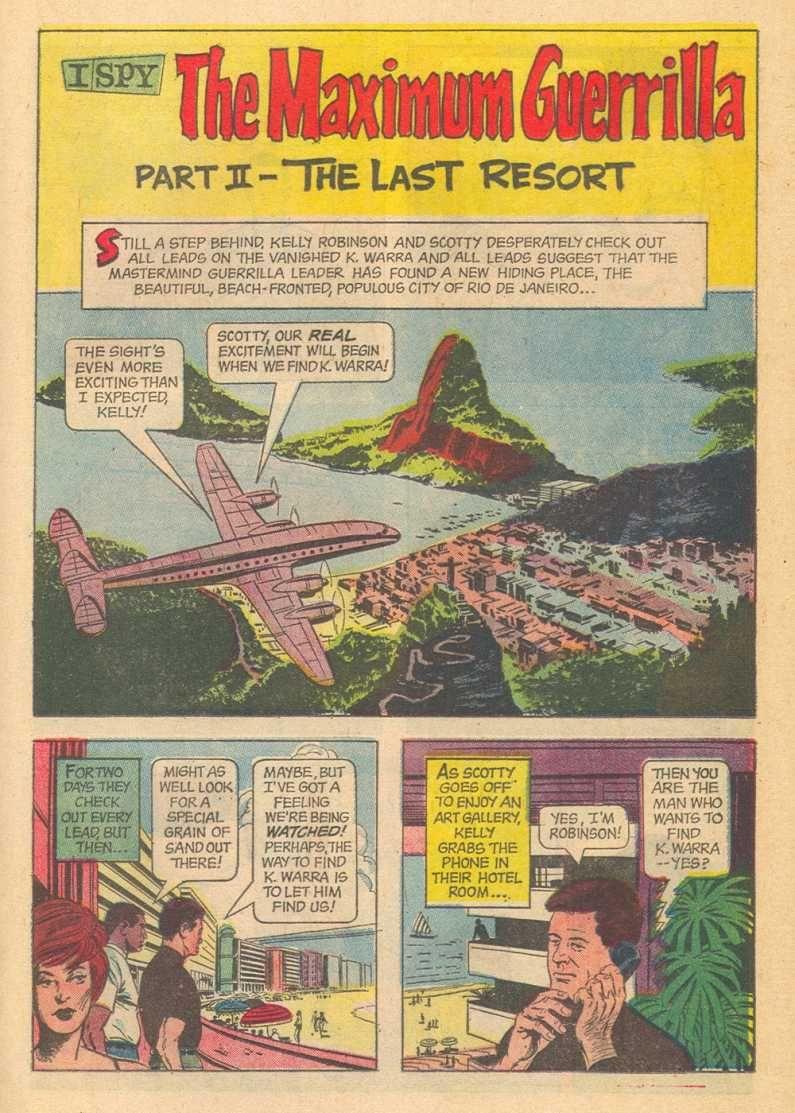 I Spy #5 Gold Key Comics \