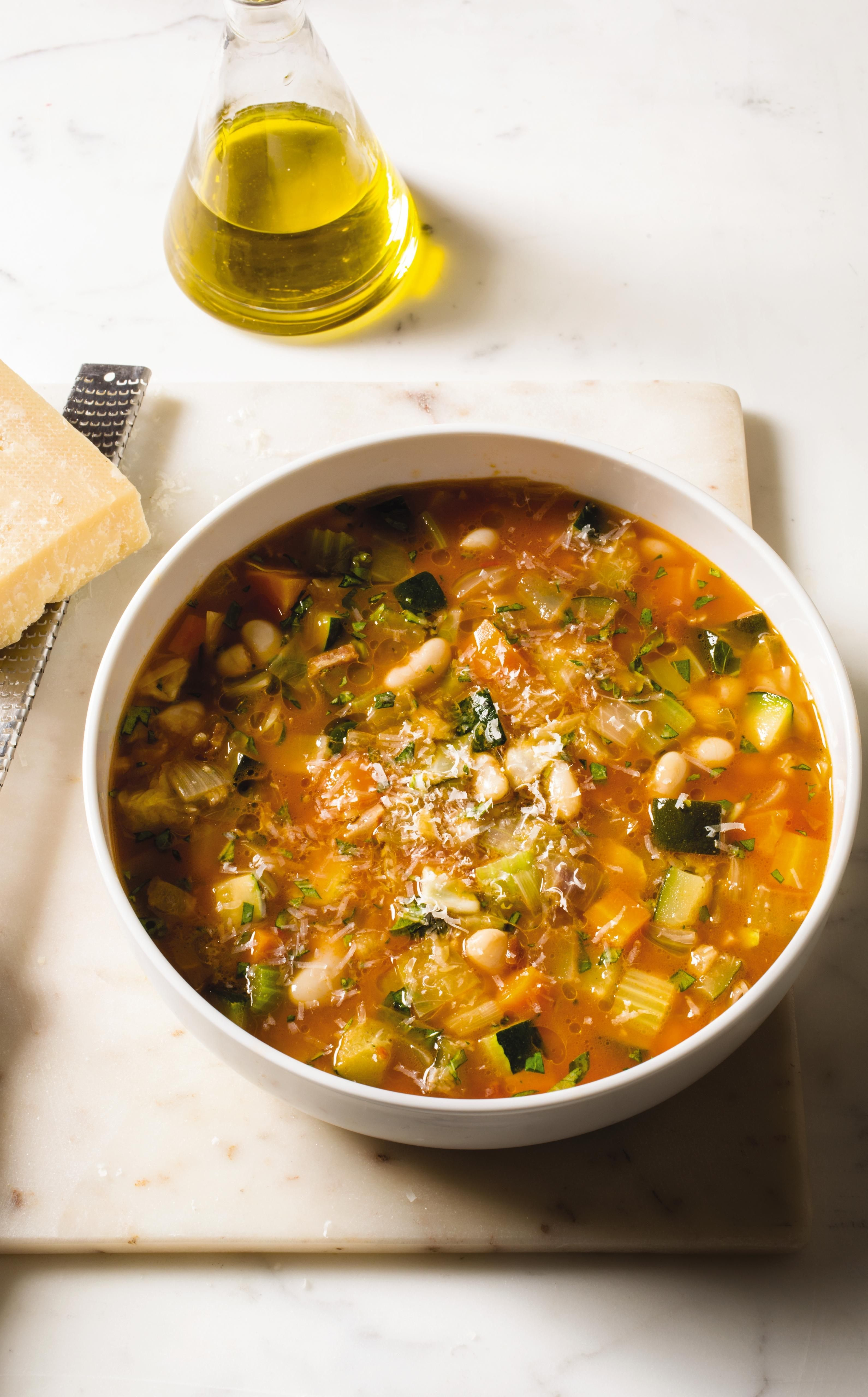 Hearty Minestrone. While the Italians rely on garden-fresh ...
