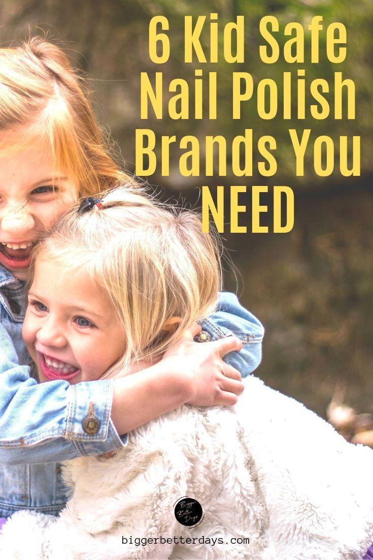 6 Kid Safe Nail Polish Brands on Amazon Safe nail polish