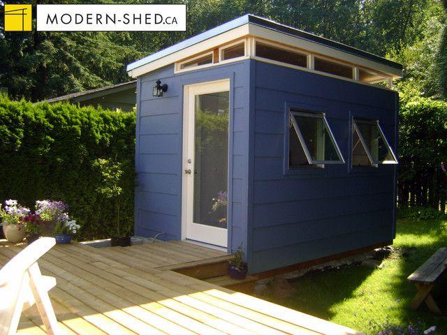 Teenage Hideaway Sheds Backyard Sheds Shed Makeover Modern Shed