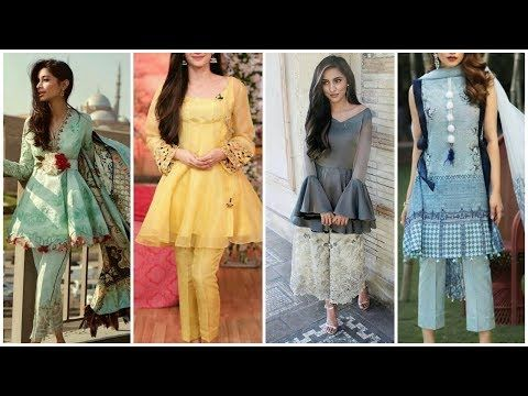 81607e4f067 New Indian And Pakistani Short Frocks-Latest umbrella Short Dresses  Collection for Girls 2018 - YouTube