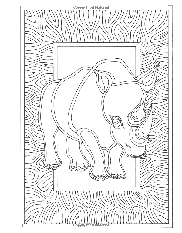 Amazon Angela Porters Zen Doodle Animal Tangles New York Times Bestselling Artists DoodleAdult ColoringColoring BooksNew Doodles