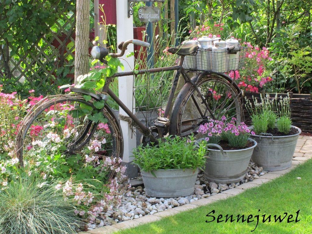 Ein fahrrad mit vielen facetten heft 2 2014 bilder und fotos garten pinterest garten - Gartendeko fahrrad ...