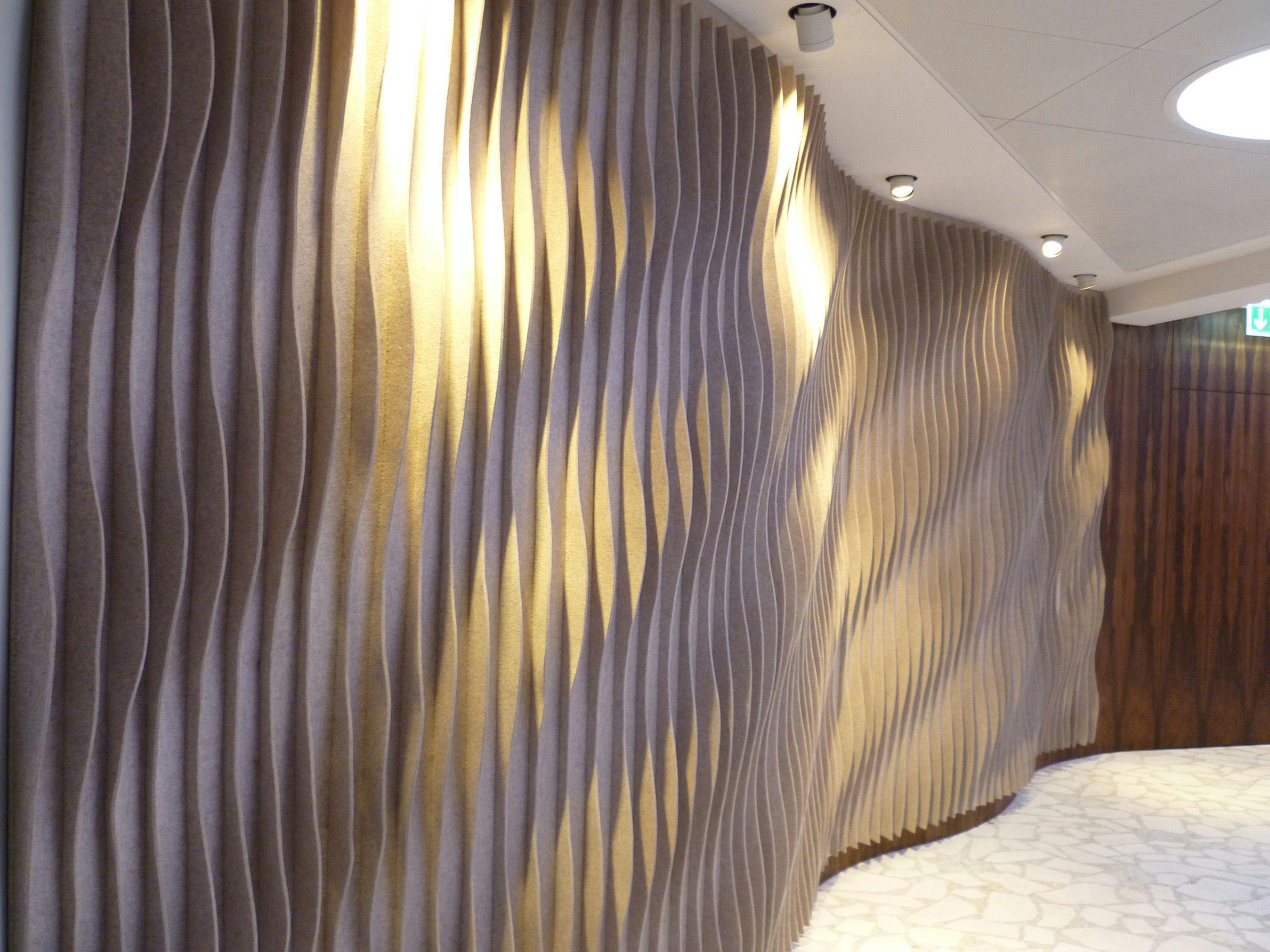 Sound Absorbing Wool Felt Panel Laine By Anne Kyyr Quinn