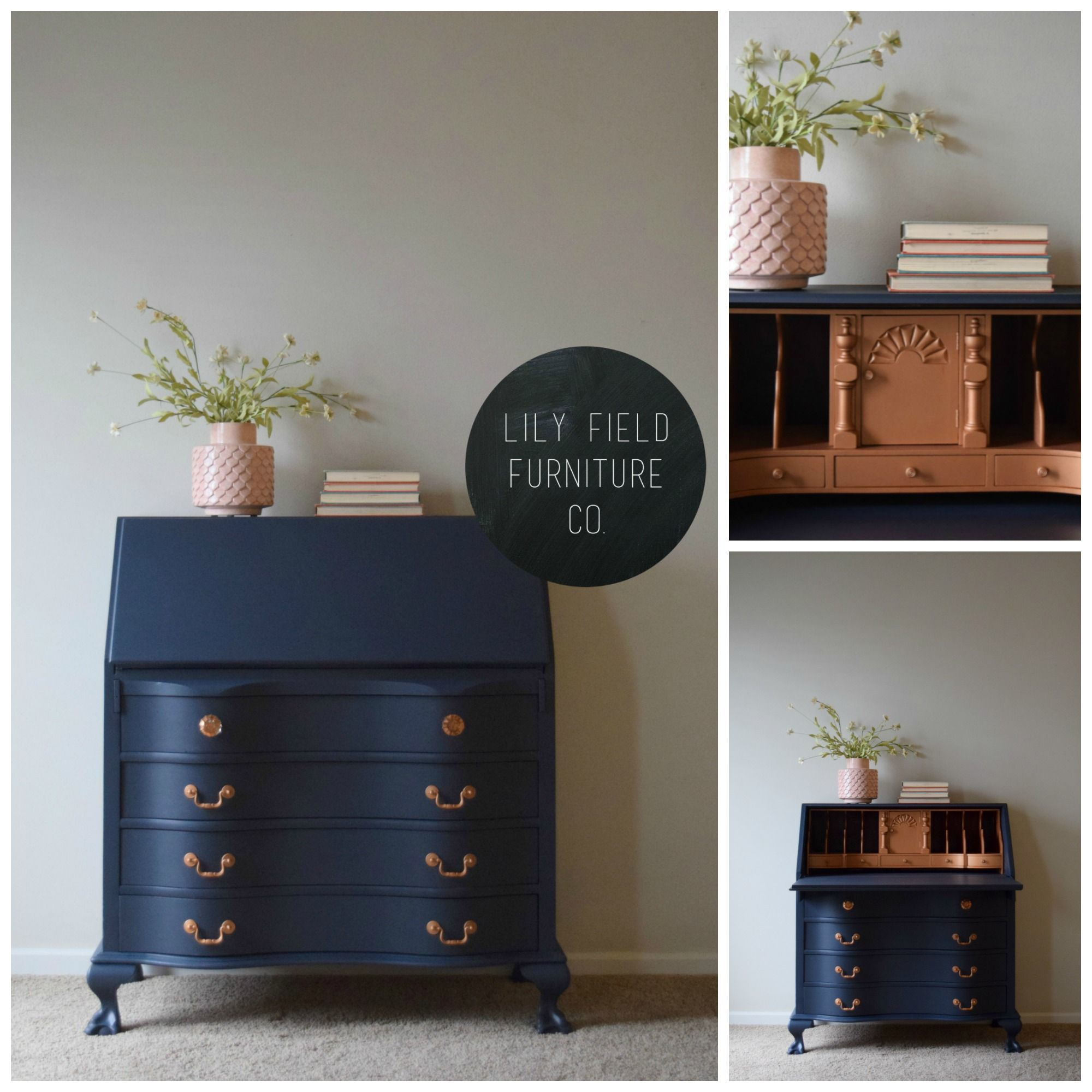 have an old secretary desk laying around see how you can transform your desk into