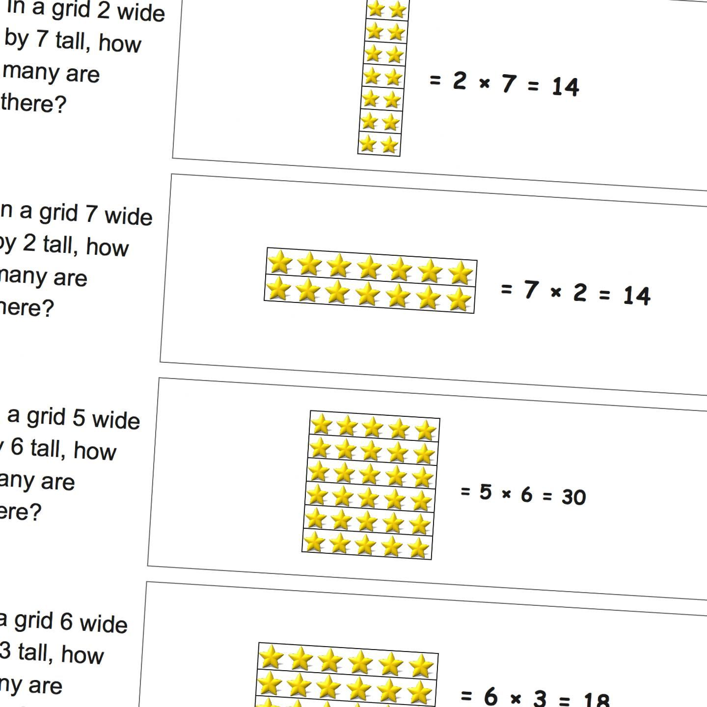 Worksheets Where Students Use Grids To Solve Simple