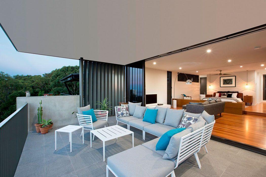 Jolie maison rénovée avec belle vue sur la ville à Queensland ...