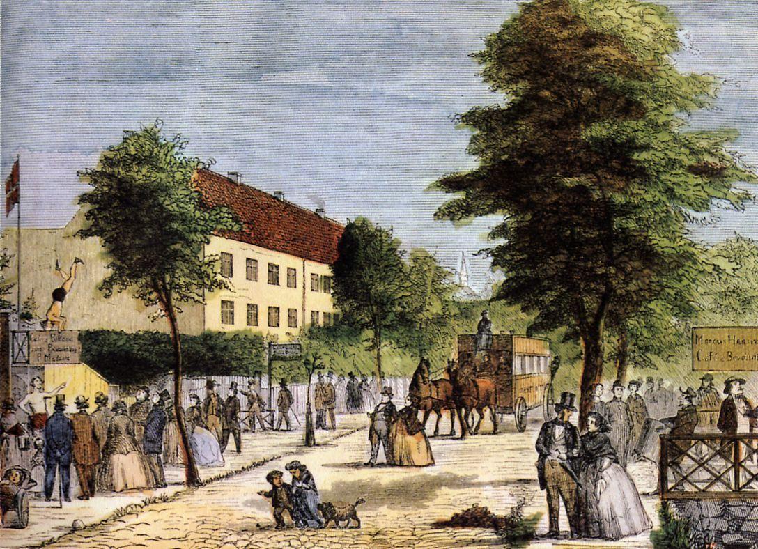 Frederiksberg Alle Kend Kobenhavn