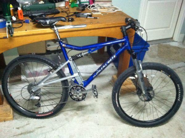 Santa Cruz Heckler Mtb 1996 Mtb Santa Cruz Bicycle