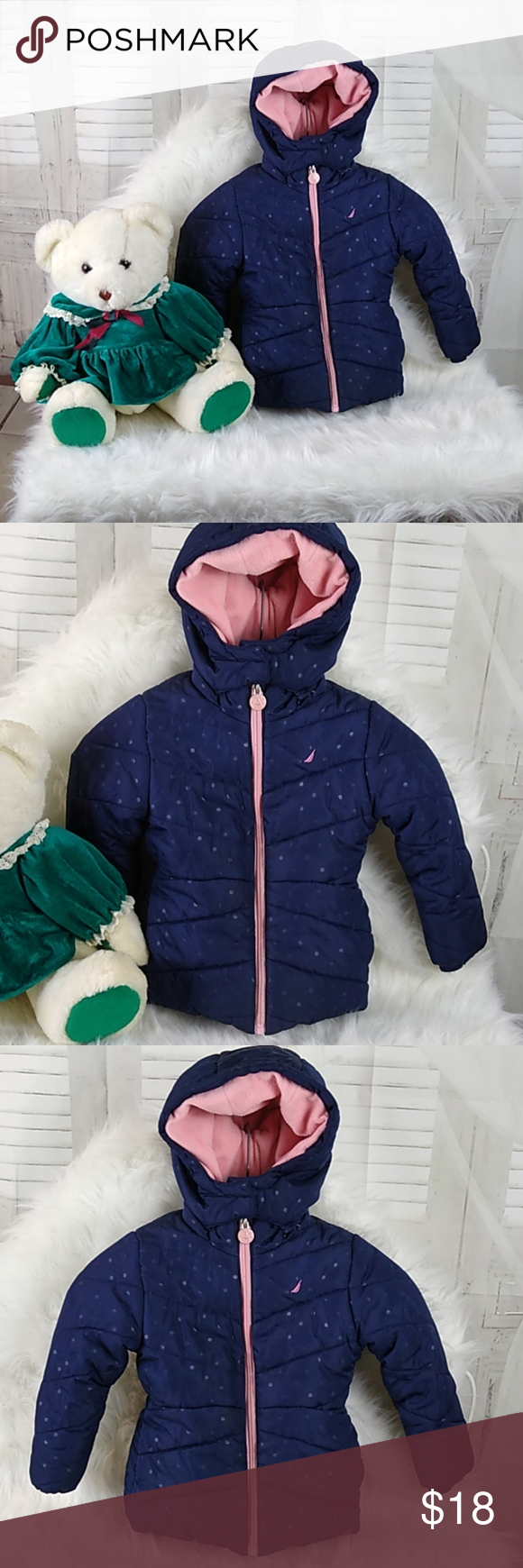 Nautica 3 T Puffer Jacket Nautica 3 T Puffer Jacket Excellent Condition Removable Hood Side Pockets Comes With Christmas B Clothes Design Jackets Puffer Coat [ 1740 x 580 Pixel ]