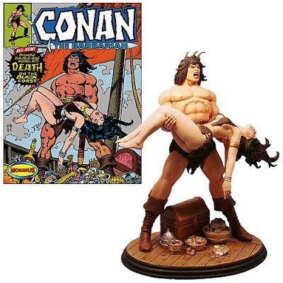 BLOG DOS BRINQUEDOS: Conan, o Bárbaro morte de Bêlit