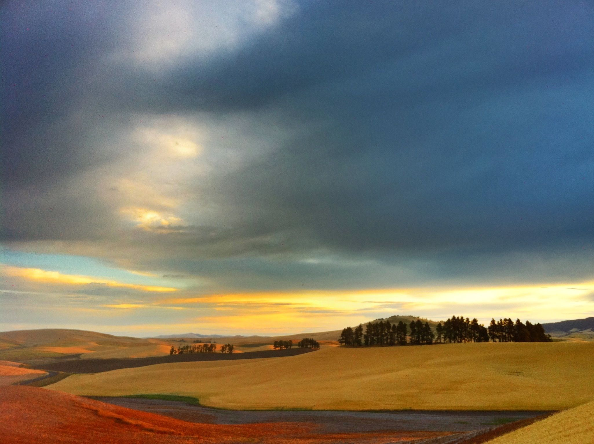 sunrise palouse