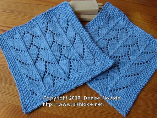 Lacy Dragon Large Scale Washcloths Its All About The Knitting