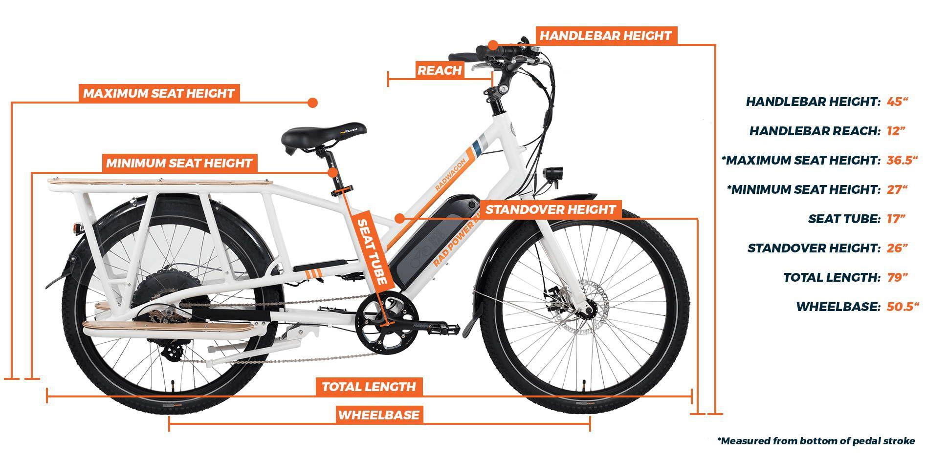 Radwagon Electric Cargo Bike Cargo Bike Electric Cargo Bike