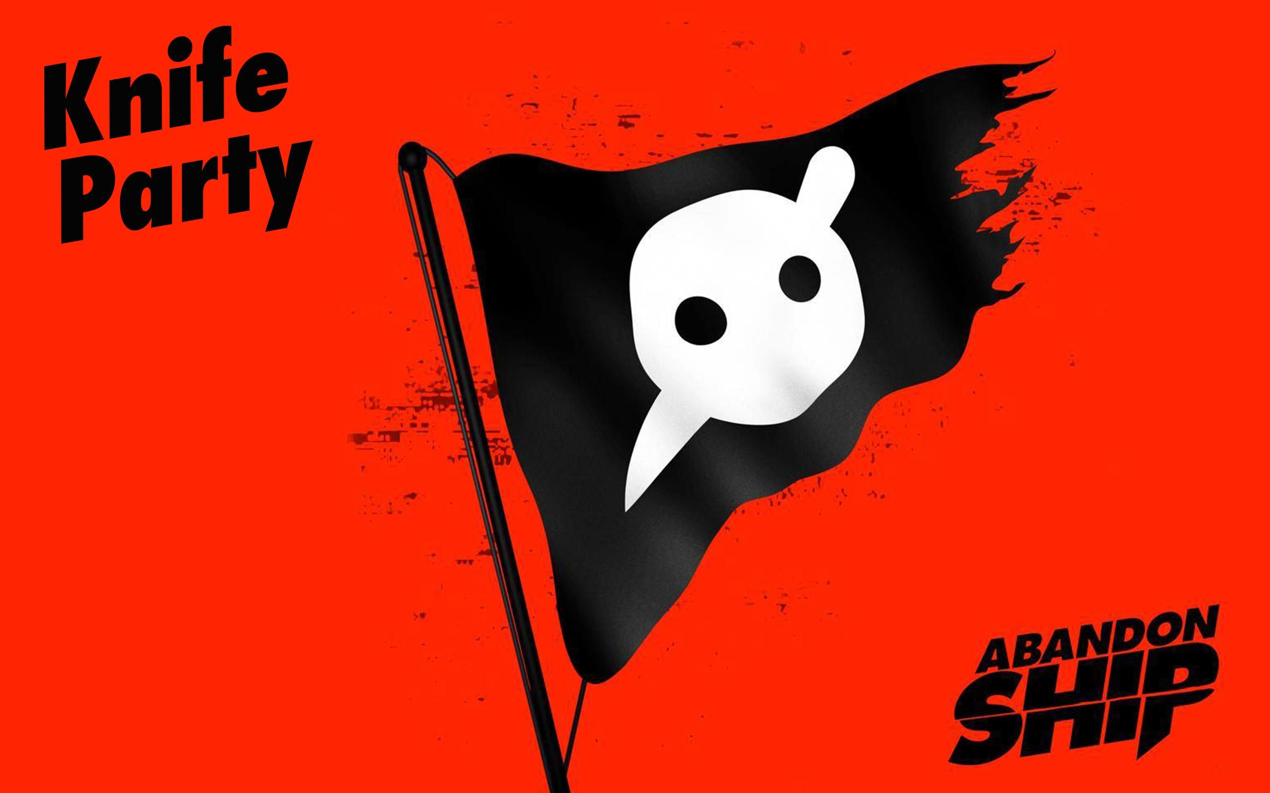 Iphone 6 Music Knife Party Logo Haunted House Wallpaper Id 163810 Knife Party Abandoned Ships Party Logo