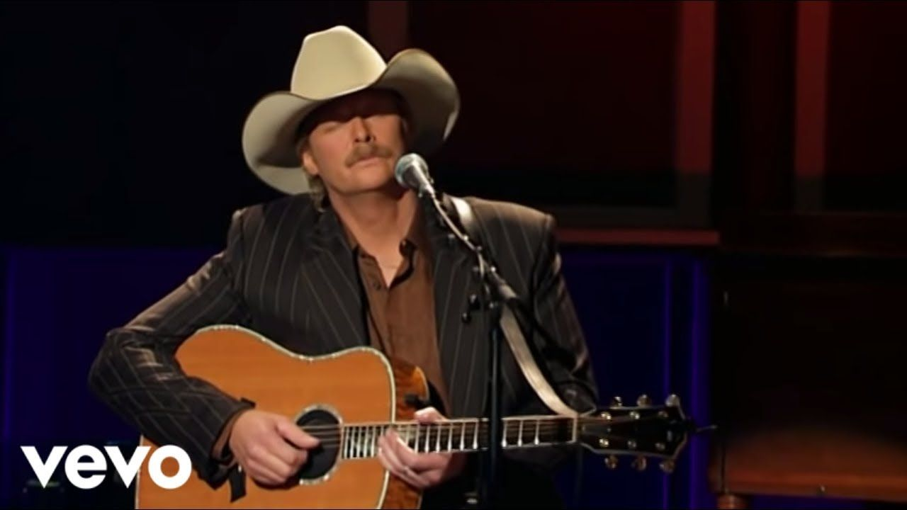 Alan Jackson How Great Thou Art Official Live Youtube