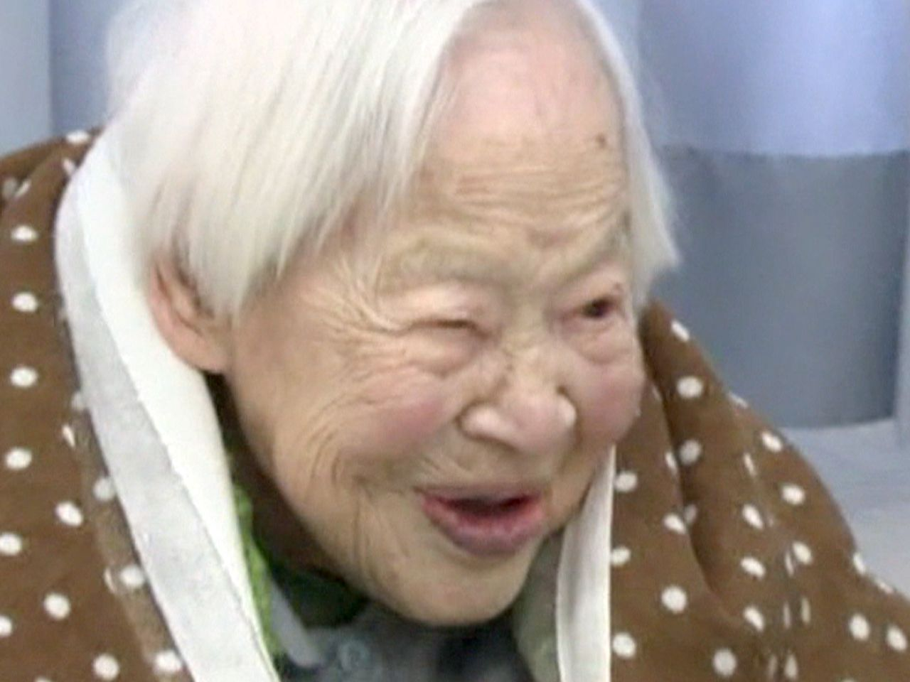 World's oldest woman: Secret to long life is sushi