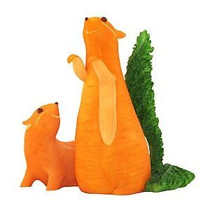 Home Grown From Enesco Carrot Chipmunks Vegetable Animals Food