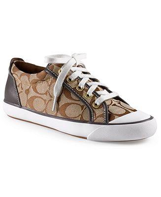 Coach sneaker | Brown coach shoes