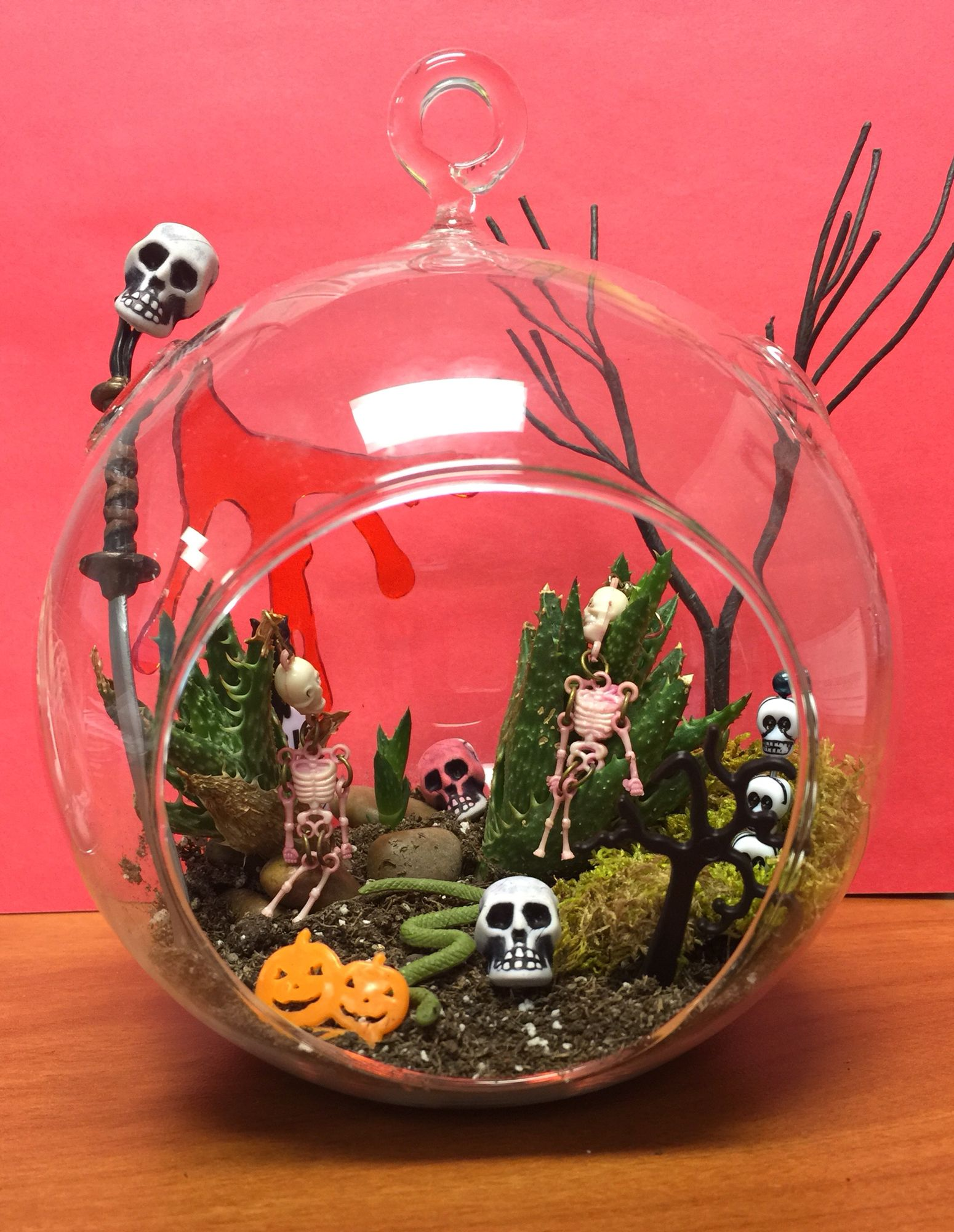 Halloween terrarium by mccastel most or the things are