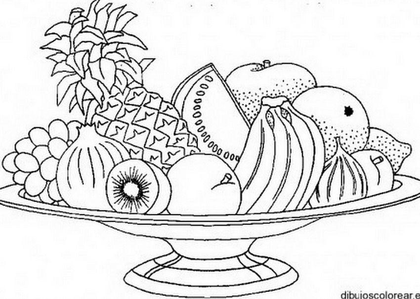 Imágenes Arte Pinturas: Flores y Frutas Para Colorear Manualidades ...