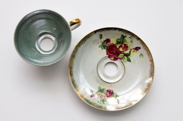 teacup pendant shades, window treatments, windows