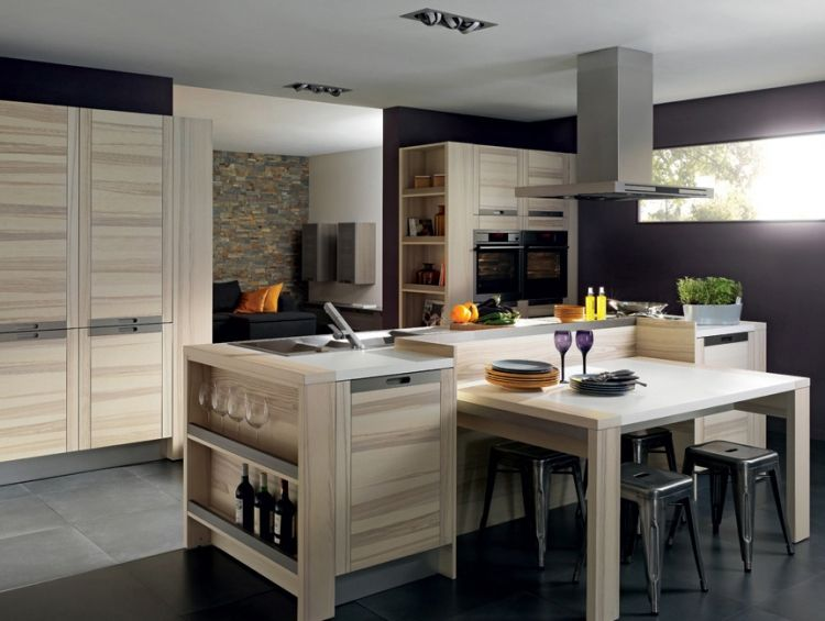 Cocina moderna natural masisa inspira architecture - Interiores cocinas modernas ...