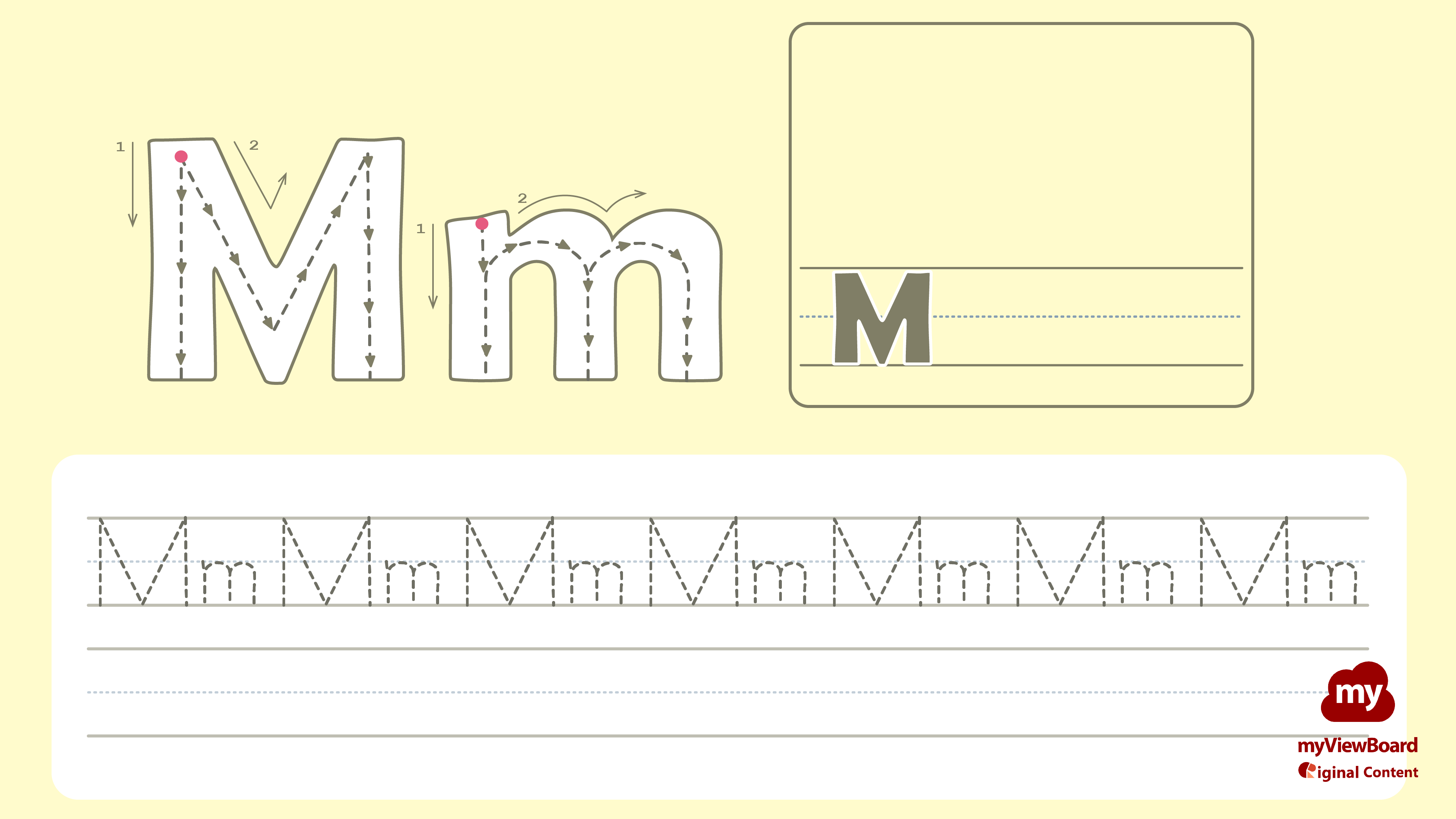 Letter Tracing Worksheets M In