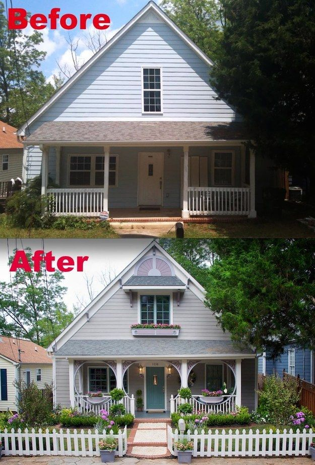 15 Home Makeovers You Have To See Believe Curb Appeal