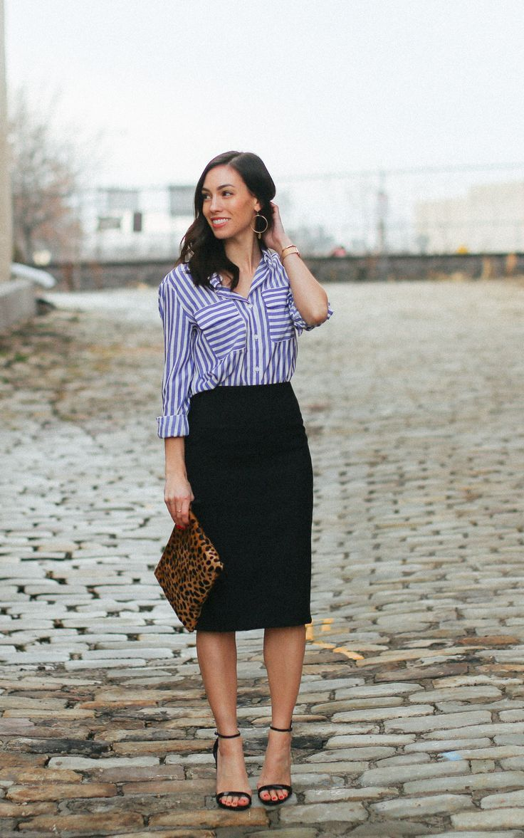 3 Ways to Style a Classic Pencil Skirt